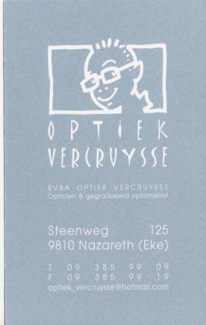 More about Optiek Vercruysse